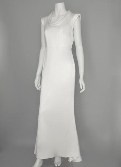 Silk-satin Cut out  Dress2
